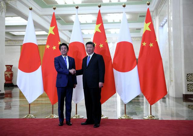 习近平会见日本首相安倍晋三 指出推动中日关系再上新台阶
