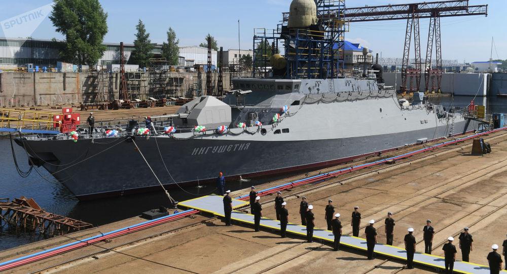 配备有中国发动机的俄小型导弹舰完成试验 将交付黑海舰队