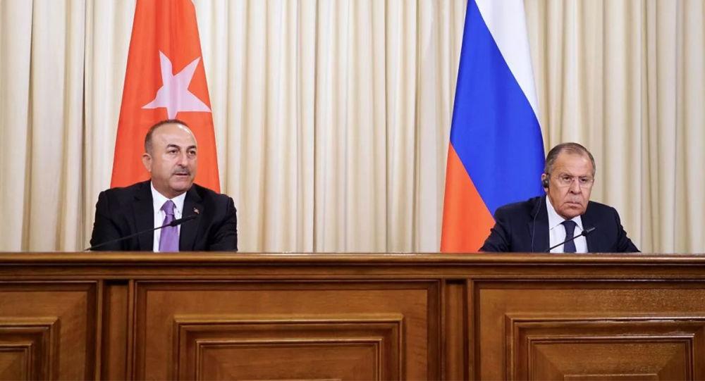 俄土外长通电话讨论叙伊德利卜和利比亚局势