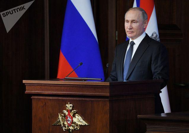 普京:从未有过 除俄罗斯以外没有任何国家拥有高超声速武器