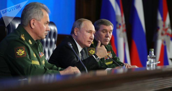 """紹伊古:俄已完成""""佩雷斯維特""""激光武器係統的部署"""