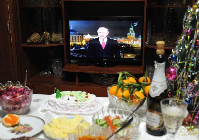 俄罗斯7成居民计划观看普京的新年讲话