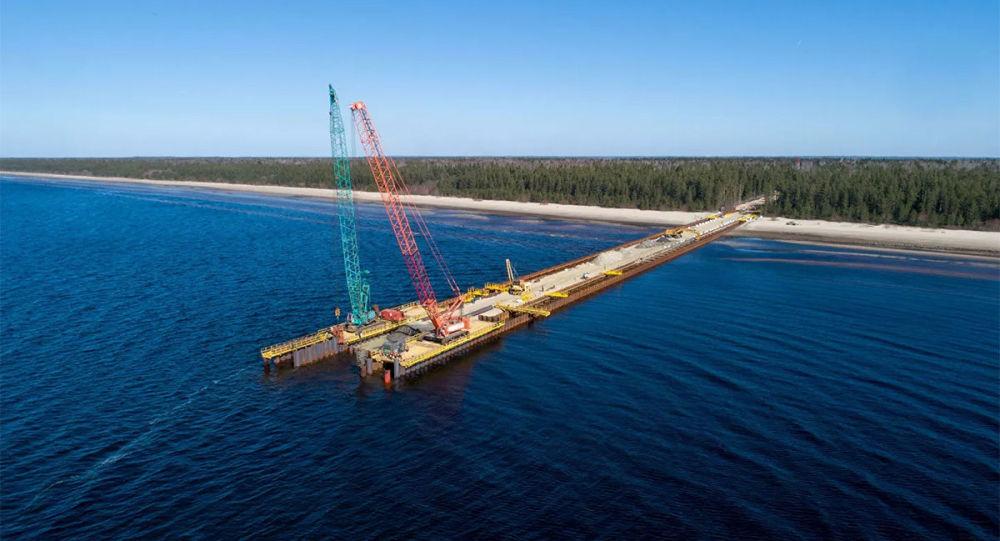 """""""北溪-2""""项目的建设"""