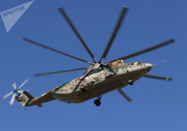 米-26运输直升机