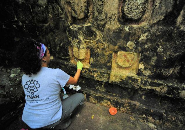 墨西哥发现的玛雅宫殿