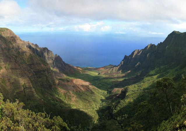 美国夏威夷州考艾岛Kōkeʻe地区