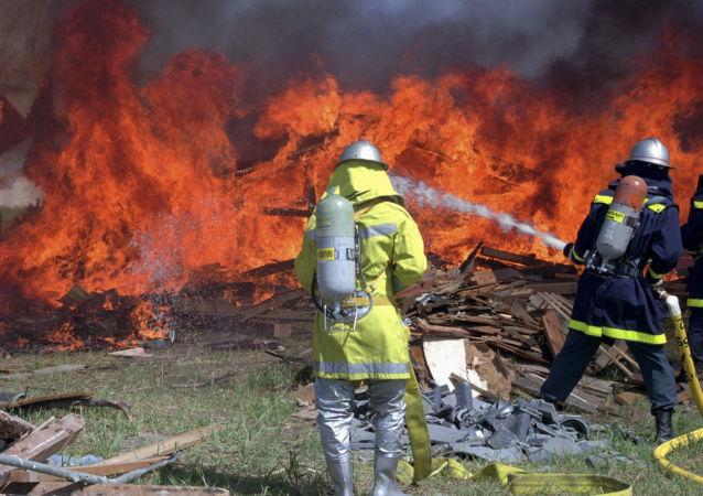 日本消防员
