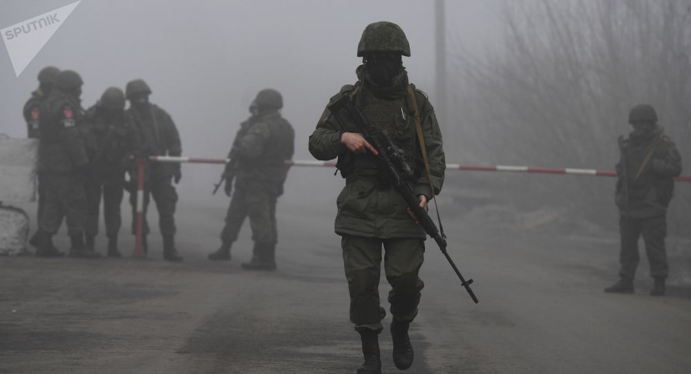 顿涅茨克人民共和国军人