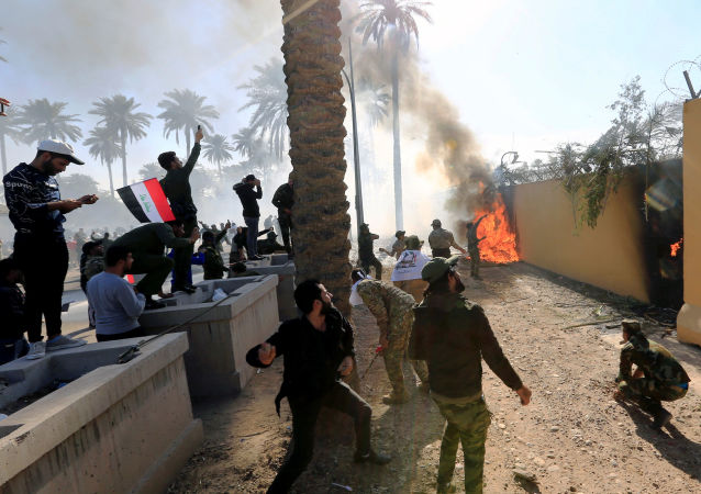 联军发言人:美国为首的联军没有空袭过巴格达北部塔吉地区