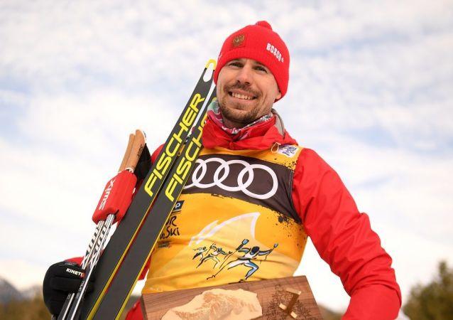 俄罗斯滑雪运动员谢尔盖∙乌斯久科夫