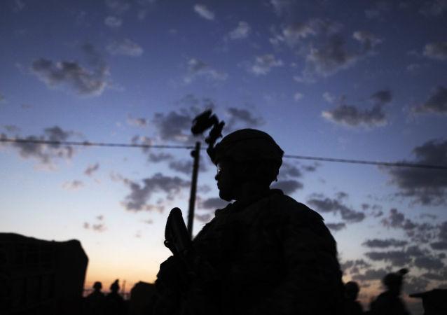 美国军人在伊拉克基尔库克