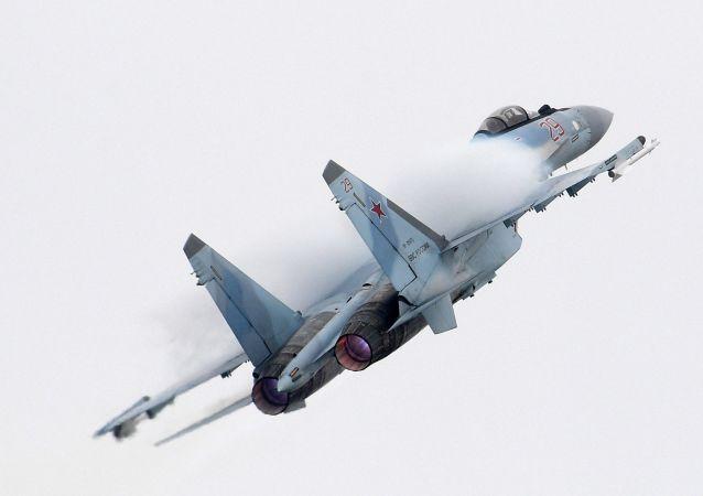 俄技集团:俄空天军现装备有大约70架苏-35S战机