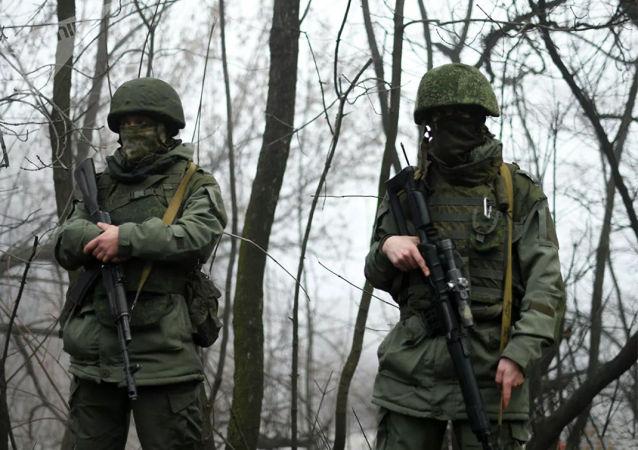 """顿涅茨克人民共和国称一名在戈尔洛夫卡附近死亡的破坏者是""""美国的雇佣兵"""""""