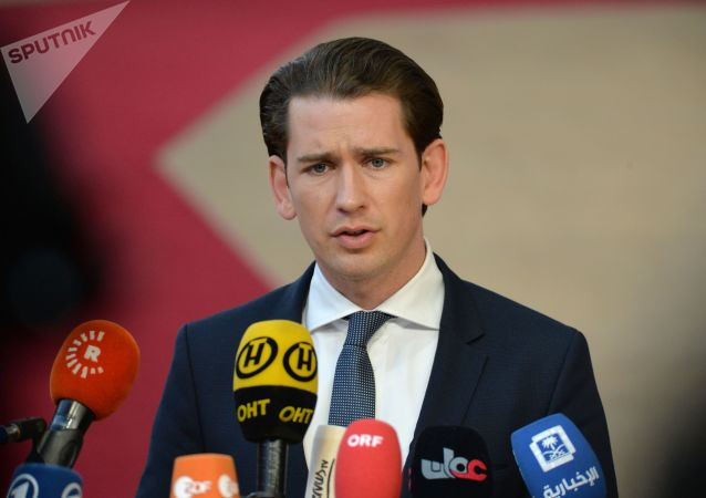 奥地利总理塞巴斯蒂安•库尔茨