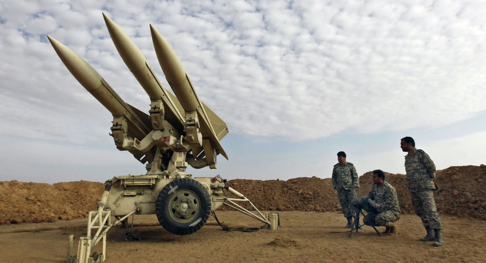 伊朗举行大规模防空演习