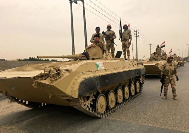 伊拉克军队 资料图