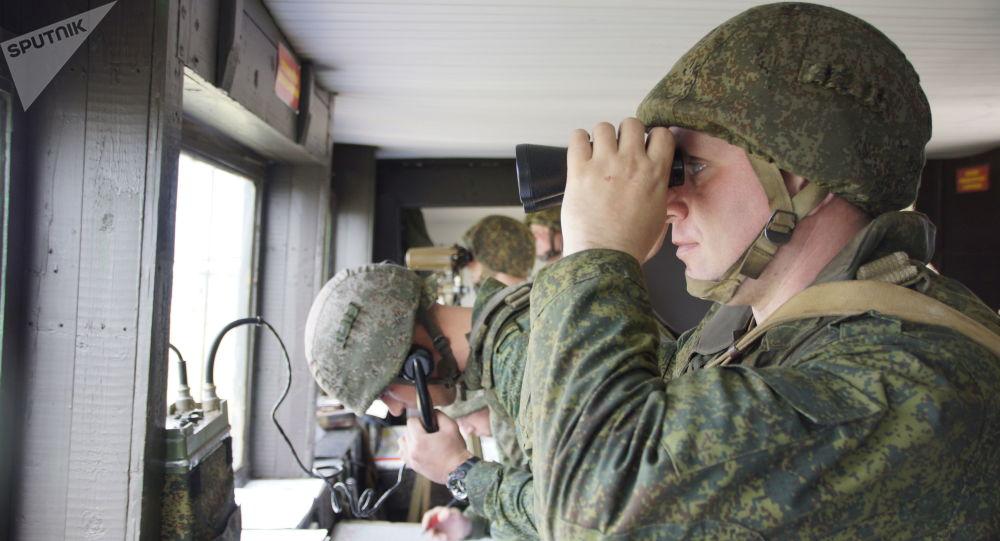 卢甘斯克人民共和国的人民警察