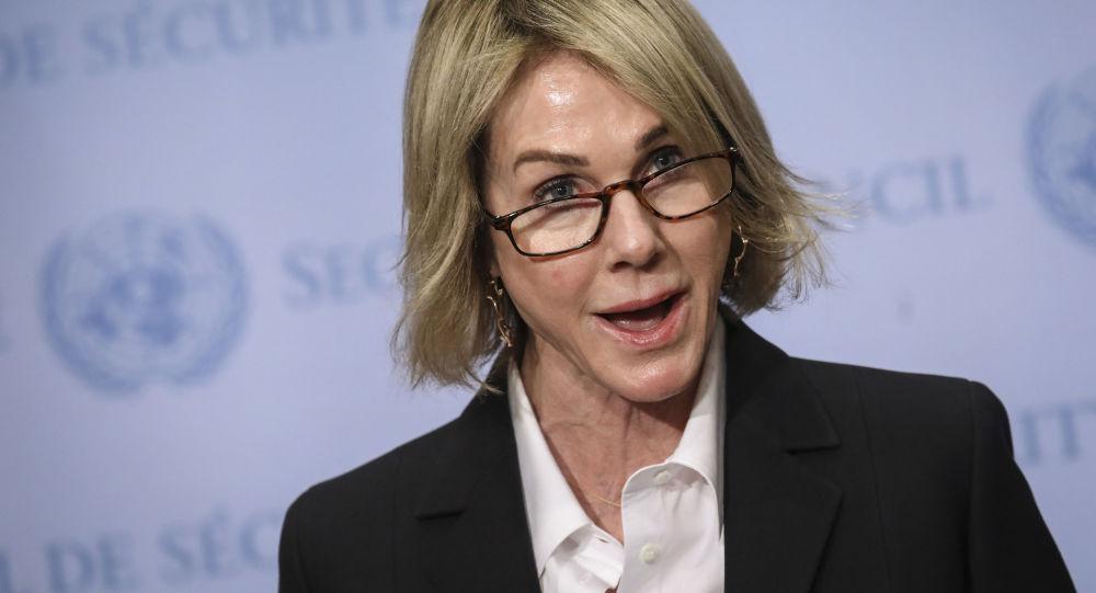 美国常驻联合国代表凯莉∙克拉夫特
