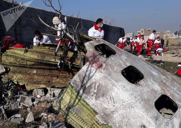 伊朗媒体:伊乌两国总统电话讨论乌克兰客机坠毁事件