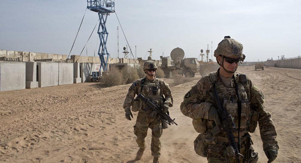 驻伊拉克美军