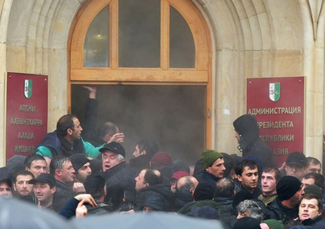 阿布哈兹总统表示如有必要将宣布全国进入紧急状态