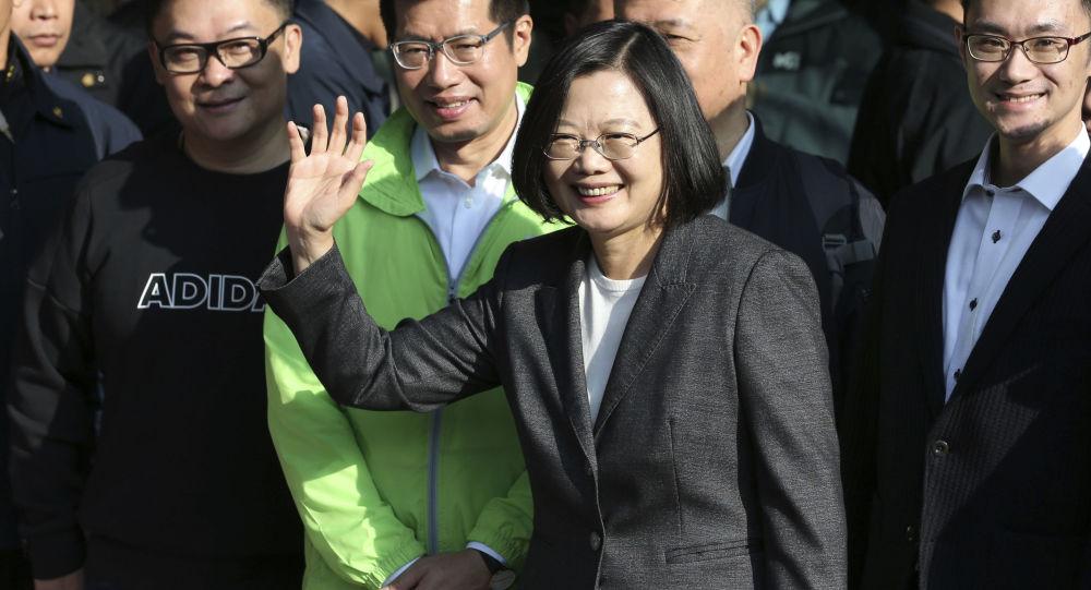 蔡英文连任台湾地区领导人