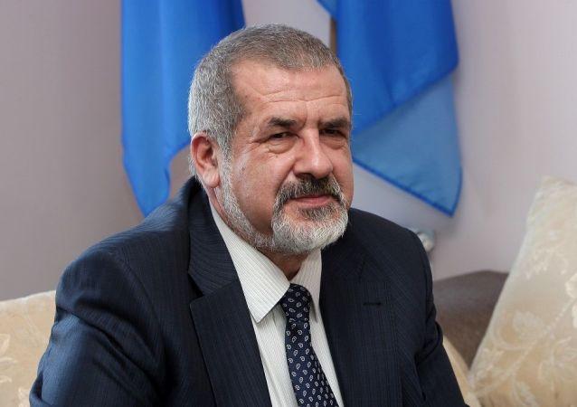 乌克兰最高拉达前议员、被俄罗斯禁止的克里米亚鞑靼人民族议会的议长丘巴罗夫