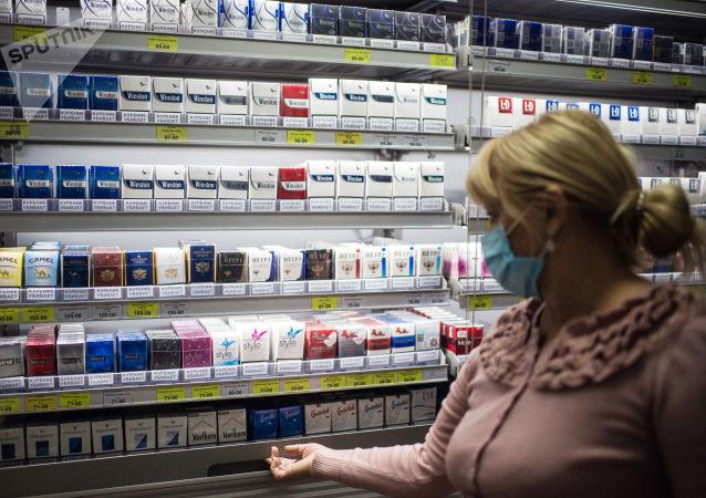 法国烟草制品销量自实施隔离制度以来上涨三分之一