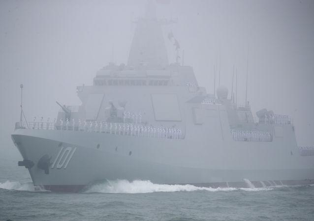 美媒:中国新型驱逐舰比预想的要大要强
