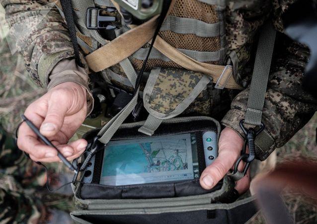 """最近接装的""""射手座""""侦察、指挥和通讯综合系统"""