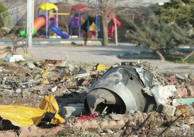 乌克兰请求伊朗将被击落客机的黑匣子交给乌执法机关