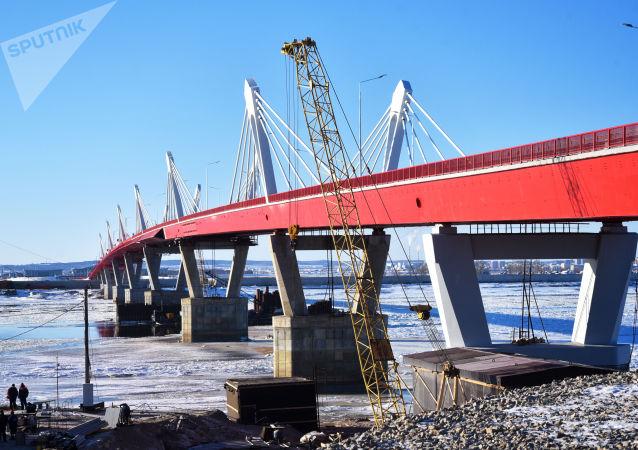 布拉戈维申斯克—黑河界河公路大桥