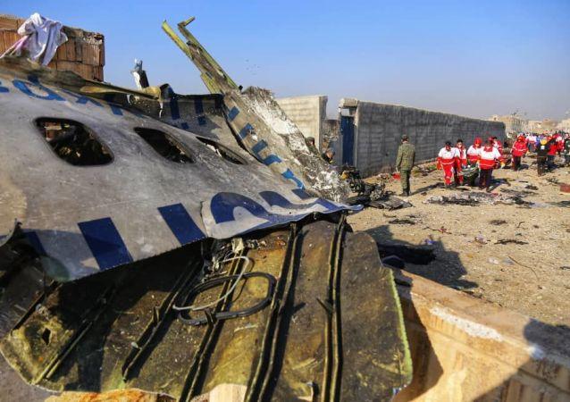 伊朗波音飞机坠毁事件