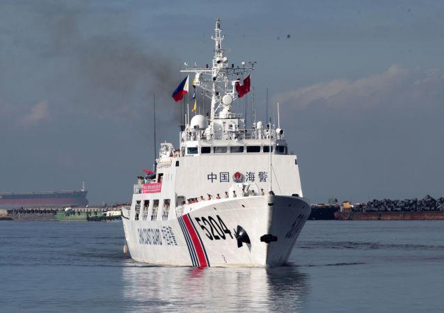 中国海警开展北太平洋公海渔业执法巡航