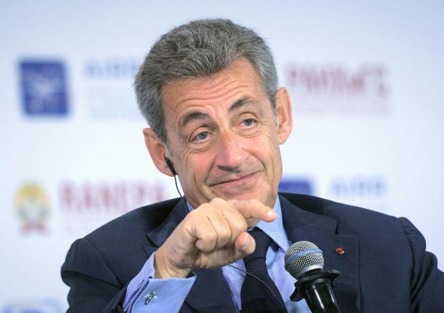 法国前总统尼古拉•萨科奇
