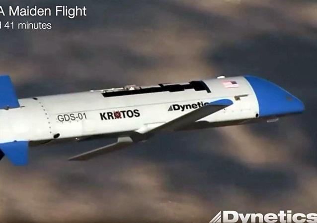 X-61A型可重复使用的涡轮喷气式无人机