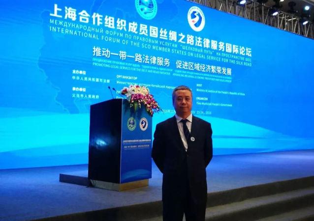 张振利律师参加2016年上合组织成员国丝绸之路法律服务国际论坛
