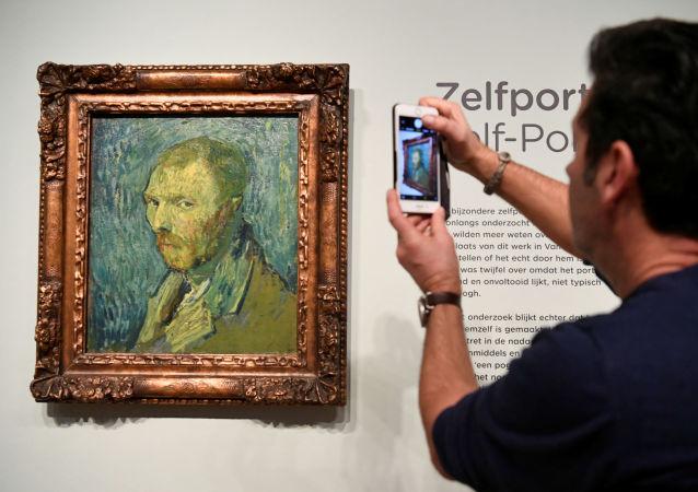专家确认奥斯陆博物馆的梵高在医院所画自画像为真迹