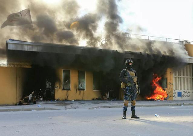 美驻巴格达使馆