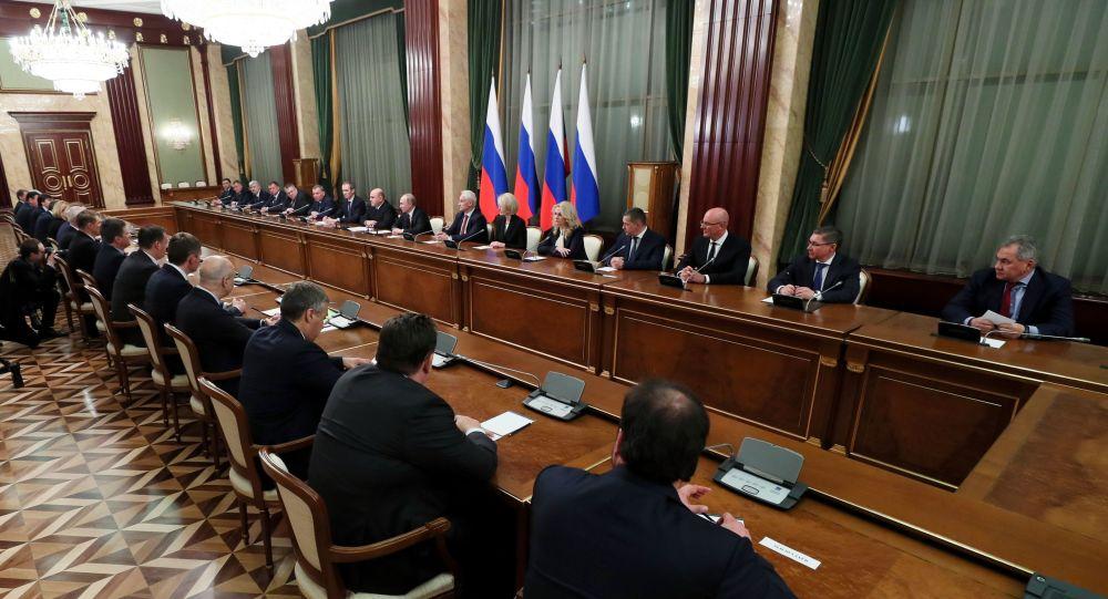 俄新一届政府任命9名副总理