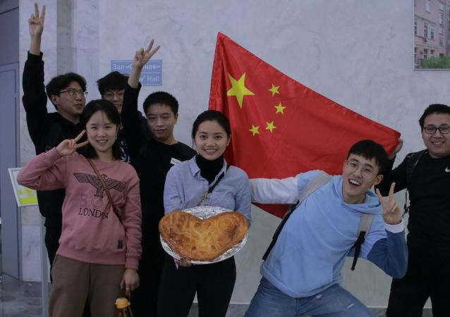 中国学生在俄罗斯
