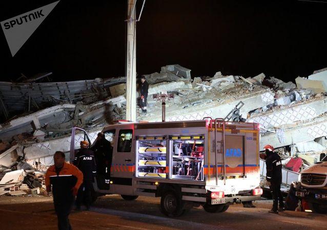 土耳其,地震