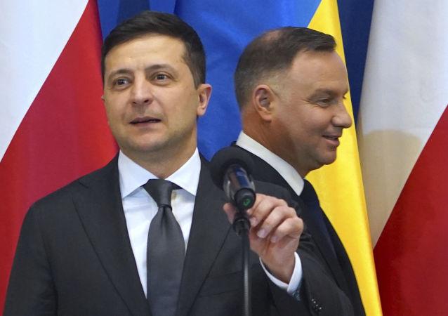 泽连斯基与杜达