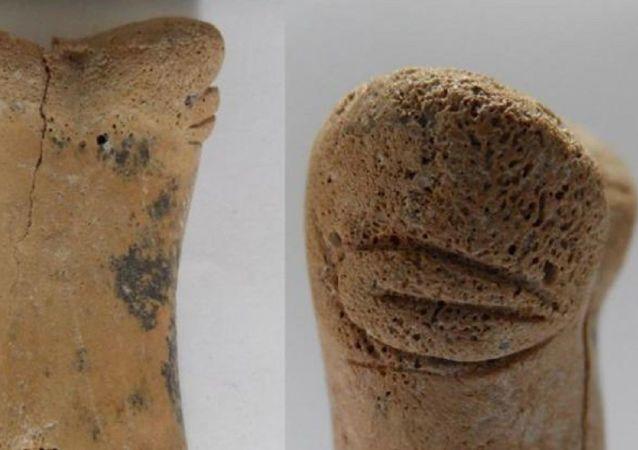 Археологи раскопали 8500-летнюю фигурку неизвестного существа
