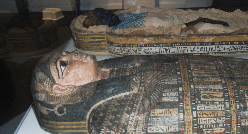 美国科学家在埃及木乃伊里发现不寻常的神器