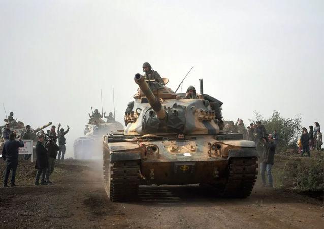 土耳其的军事人员在利比亚