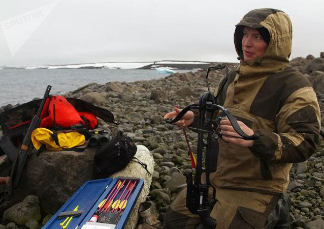 俄罗斯允许用弓和弩狩猎的法律生效