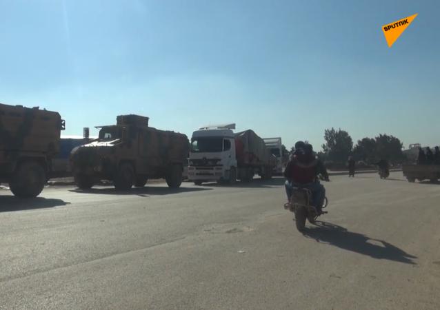 土耳其军事装备在叙伊德利卜省