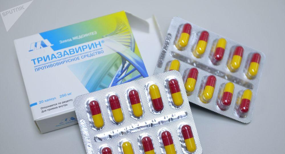 专家:俄抗病毒药Triazavirin或对新型冠状病毒有效