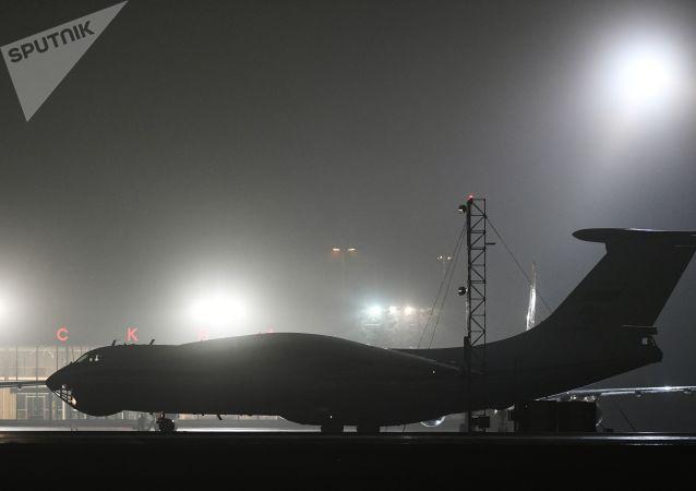 第二架运载医疗用品的飞机已从中国抵达乌克兰